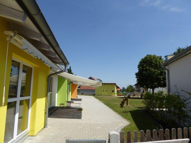 Garten der Kindertagesstätte