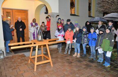 Gruppenfoto bei der Aussendungsfeier in Salching