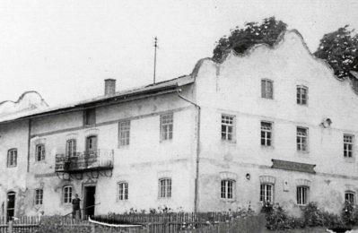 Das Wirtshaus in Matting, erbaut im Jahr 1774